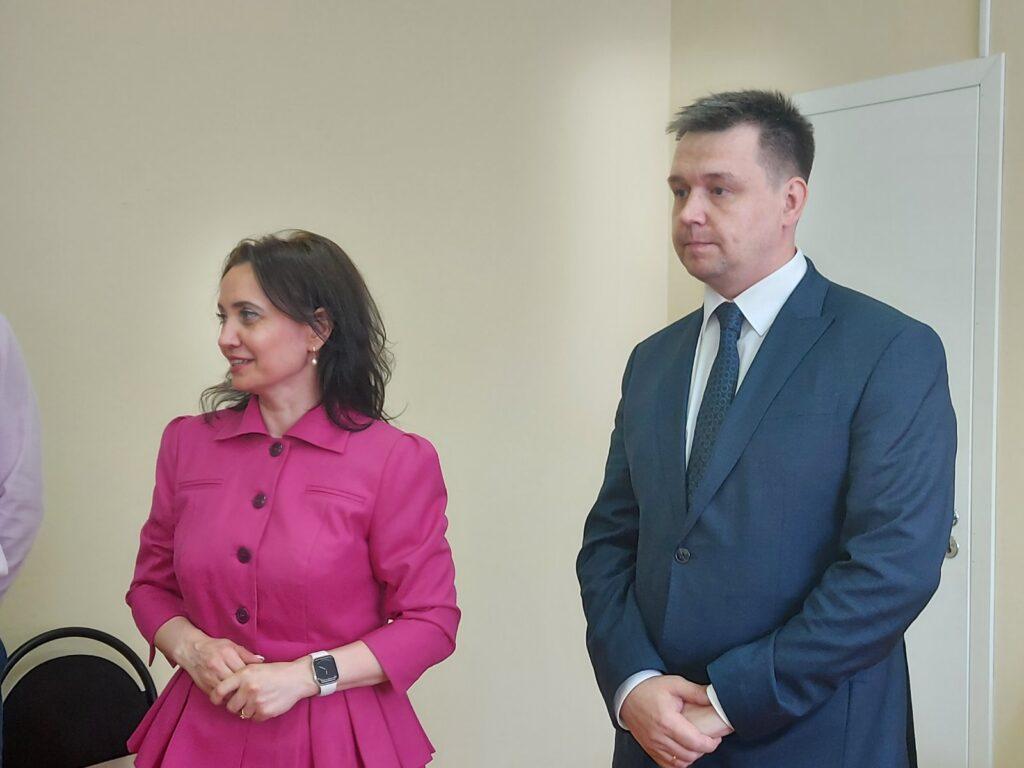 Первый зампред Правительства Ульяновской области Марина Алексеева представила нового руководителя Агентства
